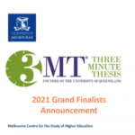 Three Minute Thesis (3MT®) competition Grand Final