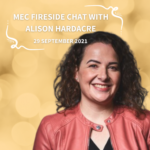 Fireside Chat with Alison Hardacre